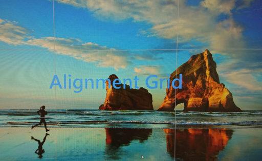 ASUSモニターで「画面を9分割するグリッド線 (Alignment Grid) 」が表示されてしまう