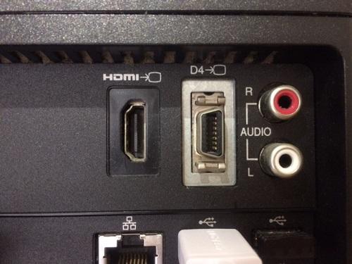REGZA PC HDMI端子